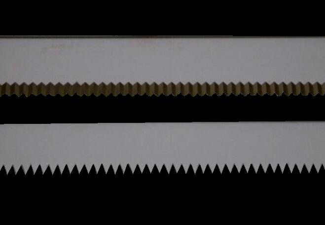 Straight tooth blades